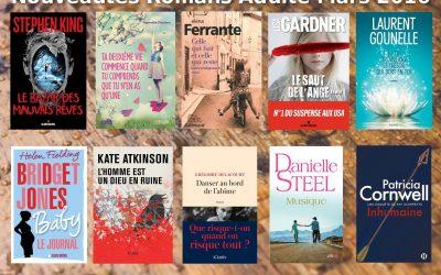 Nouveautés romans adulte – mars 2017