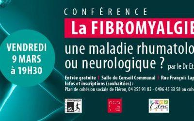 Conférence : La Fibromyalgie