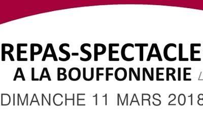 Repas Spectacle à la Bouffonnerie